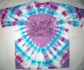 Bulls-eye Purple w/ Turquoise/Fuschia