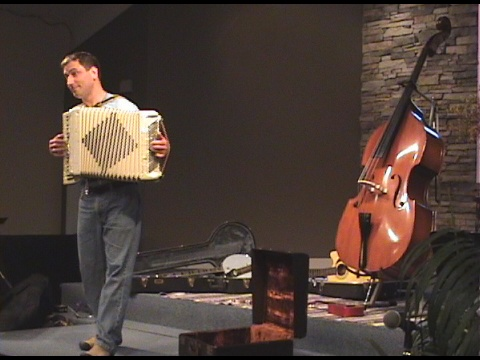 Love playing the accordion
