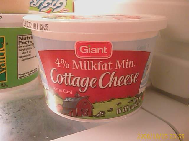 mmm, mmm, Cottage Cheese
