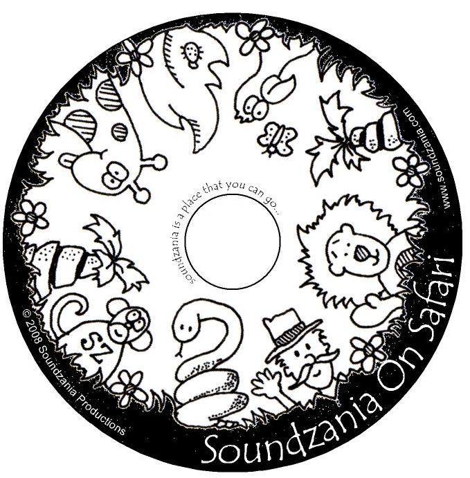 Soundzania on Safari CD Art